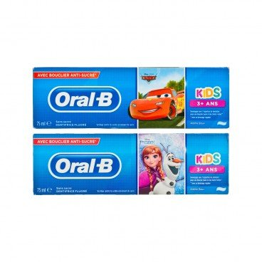 ORAL B - Disney Stages Paste fruity Random Cars frozen - 75ML