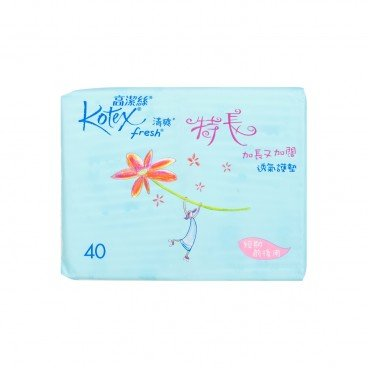 KOTEX - Fresh Breathable Pantiliner - 40'S