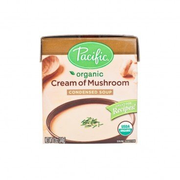 PACIFIC Organic Cream Of Mushroom Condensed Soup 12OZ