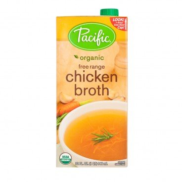 PACIFIC Organic Chicken Broth 946ML