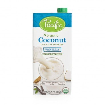 PACIFIC Organic Coconut Vanilla Beverage unsweetened 32OZ