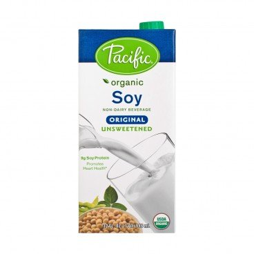 PACIFIC Organic Soy Unsweetened original 32OZ