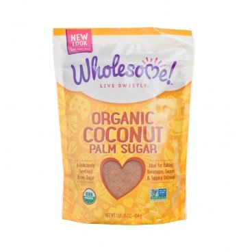 WHOLESOME Organic Coconut Palm Sugar 16OZ