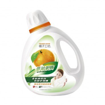 ORANGE HOUSE Nature Liquid Detergent gentle On Skin 1.8L