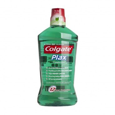 COLGATE - Plax Fresh Mint Mouth Rinse - 1L