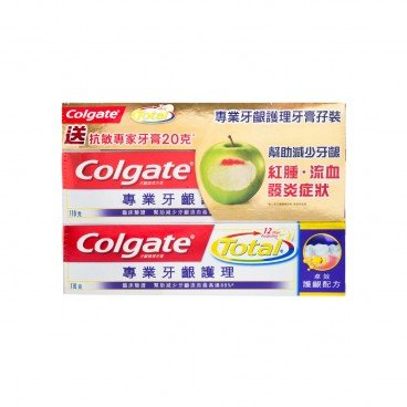 COLGATE Pro Relief Gum Care Toothpaste 110GX2+20G