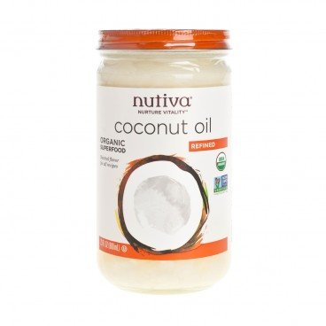 ORGANIC REFINED COCONUT OIL-GLASS JAR