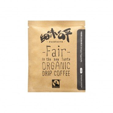 FAIR TASTE Organic Ethiopia Yirgacheffe One Cup Filter Coffee 10G