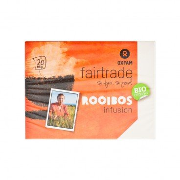 OXFAM FAIRTRADE Organic Rooibos Herbal Tea 20'S
