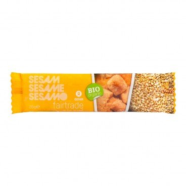 OXFAM FAIRTRADE - Fair Trade Organic Sesame Bar - 20G