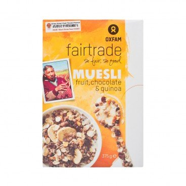 OXFAM FAIRTRADE Fair Trade Muesli 375G