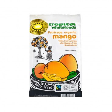 TROPICAL WHOLEFOODS - Fair Trade Organic Mango - 100G