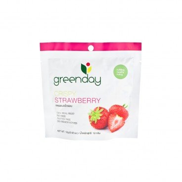 GREENDAY Crispy Strawberry 12G