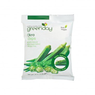 GREENDAY Okra Chips 25G