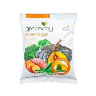 GREENDAY Mixed Veggie Chips 35G