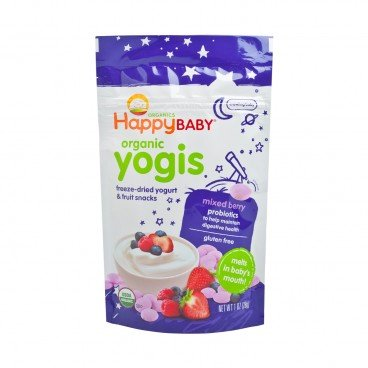 HAPPY BABY Organic Yogurt Snack mixed Berry 1OZ