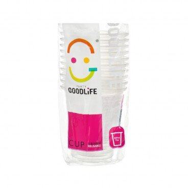GOODLIFE 7 oz Plastic Cup 10'S