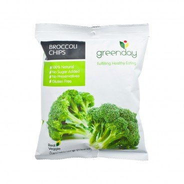 GREENDAY - Broccoli Chips - 35G