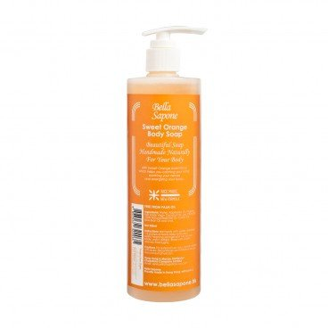 BELLA SAPONE Body Soap sweet Orange 500ML
