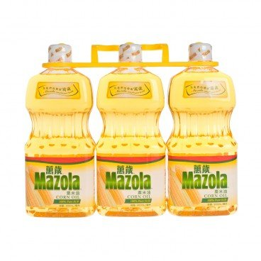 MAZOLA - Corn Oil - 900MLX3