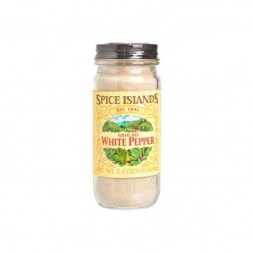 SPICE ISLANDS - Ground White Pepper - 68G