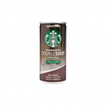 STARBUCKS - Double Shot Americano - 200ML