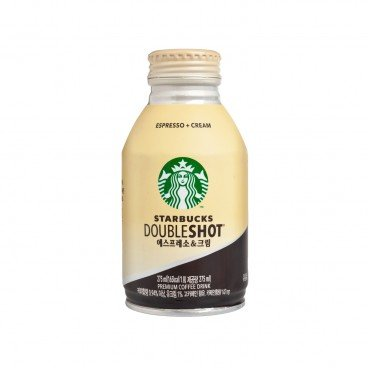 DOUBLE SHOT ESPRESSO & CREAM