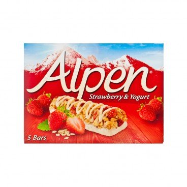 ALPEN - Cereal Bar strawberry Yogurt - 29GX5