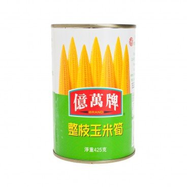 EMAN'S Whole Spears Baby Corn 425G