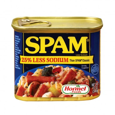 SPAM Less Sodium Luncheon Meat 340G