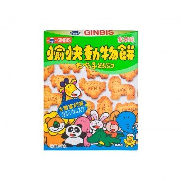 GINBIS - Animal Biscuit - 37G