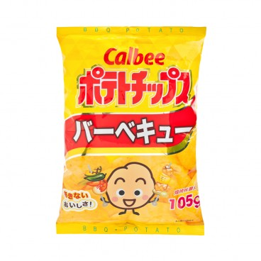 CALBEE Potato Chips bbq Flavour 105G