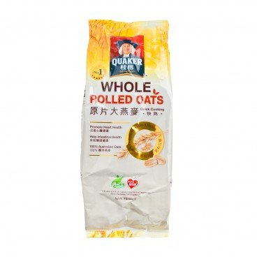 QUAKER - Whole Rolled Oats Foil - 800G