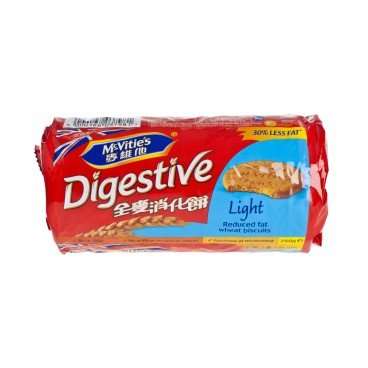 MCVITIE'S - Light Digestive - 250G