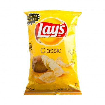 LAY'S - Potato Chips regular Flavored - 77.9G