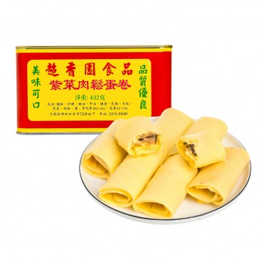 CHIU HEUNG YUEN Seaweed And Dried Meat Floss Rolls 460G