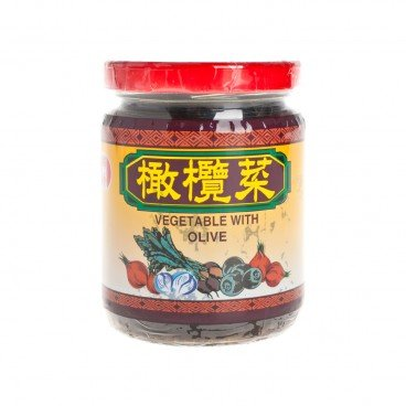 MIN HONG - Vegetable With Olive - 210G