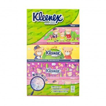 KLEENEX Teddy Bear Facial Box Tissue 5'S