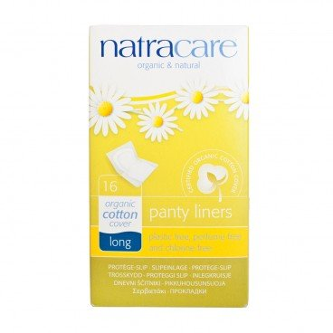 NATRACARE - Panty Liners long 18 cm Individually Wrapped - 16'S