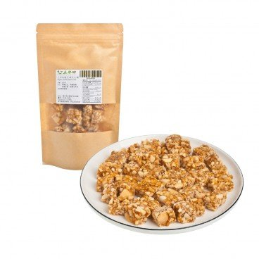 GROUND WORKS Organic Sesame Peanut Brittle 100G