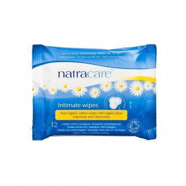 NATRACARE - Initmate Wipes - 12'S