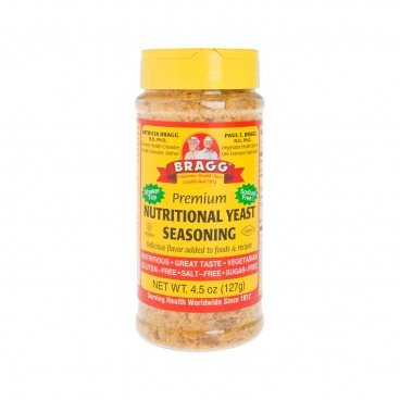 BRAGG Nutritional Yeast premium Quality Seasoning 4.5OZ