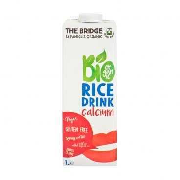 THE BRIDGE Bio Rice Drink natural Calcium 1L
