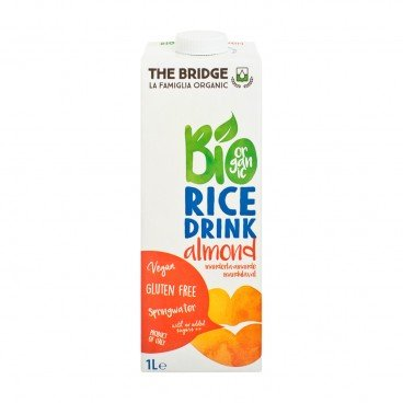 THE BRIDGE Bio Rice Drink almond 1L