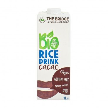 THE BRIDGE Bio Rice Drink choco 1L