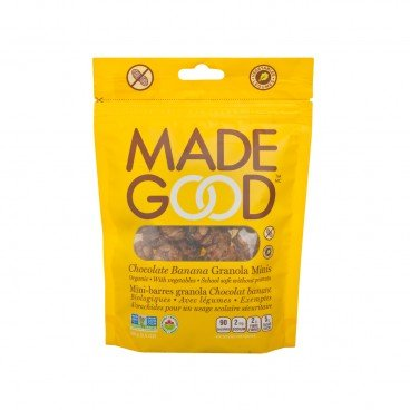 MADE GOOD - Organic Chocolate Banana Granola Minis - 100G