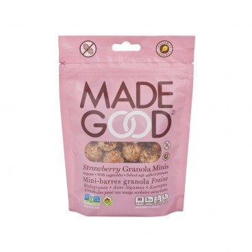 MADE GOOD - Organic Strawberry Granola Minis - 100G