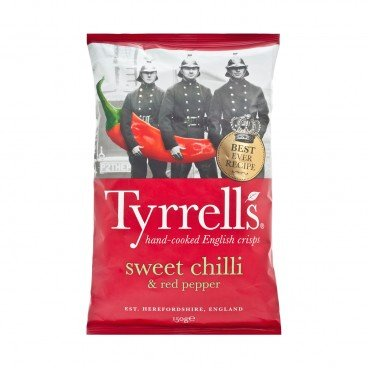 TYRRELLS - Sweet Chilli Red Pepper Crisps - 150G