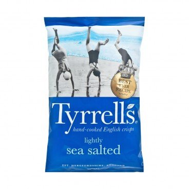 TYRRELLS - Lightly Sea Salted Crisps - 150G
