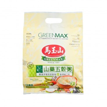 GREENMAX Yam Multi Grains Cereal 35GX12